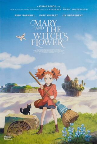 Mary And The Witch's Flower (2017) Main Poster