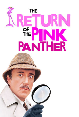 The Return Of The Pink Panther (1975) Main Poster