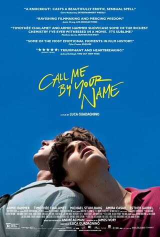 Call Me By Your Name (2018) Main Poster