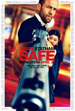 Safe (2012) Main Poster