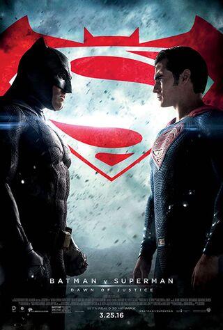 Batman v Superman: Dawn of Justice (2016) Main Poster