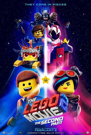 The Lego Movie 2: The Second Part (2019) Main Poster