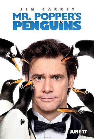 Mr. Popper's Penguins (2011) Main Poster