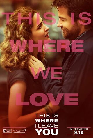 This Is Where I Leave You (2014) Main Poster