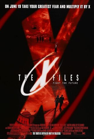 The X Files (1998) Main Poster