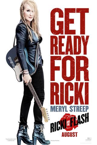 Ricki And The Flash (2015) Main Poster