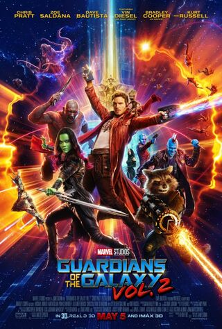 Guardians of the Galaxy Vol. 2 (2017) Main Poster