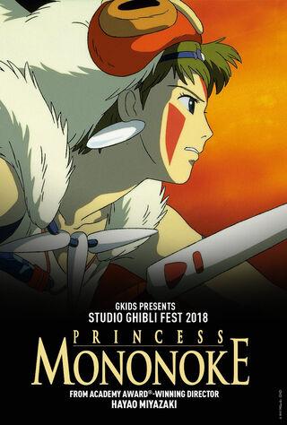 Princess Mononoke (1997) Main Poster