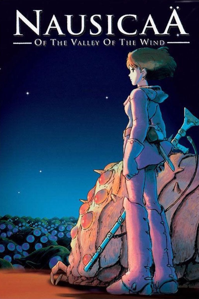 Nausicaä Of The Valley Of The Wind (1987) Main Poster