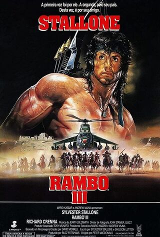 Rambo III (1988) Main Poster