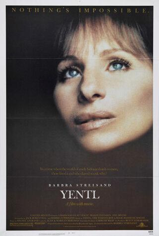 Yentl (1984) Main Poster