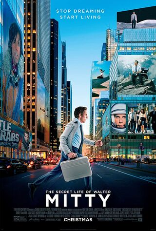 The Secret Life Of Walter Mitty (2013) Main Poster