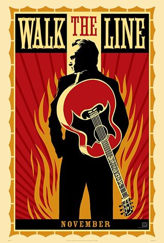 Walk The Line (2005) Main Poster