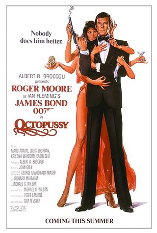 Octopussy (1983) Main Poster