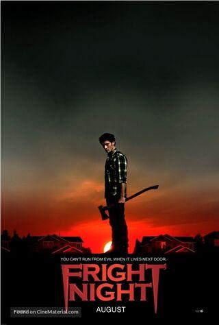Fright Night (2011) Main Poster