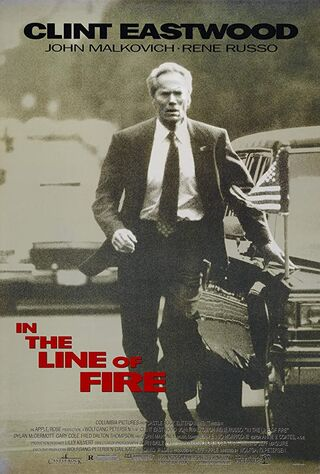 In The Line Of Fire (1993) Main Poster