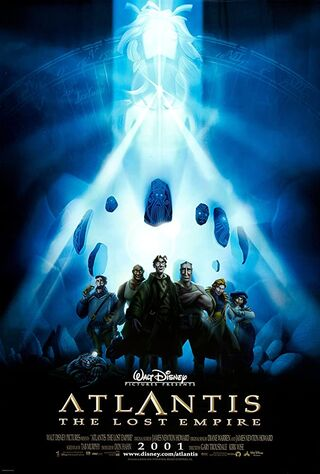 Atlantis: The Lost Empire (2001) Main Poster