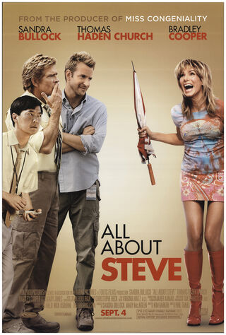 All About Steve (2009) Main Poster