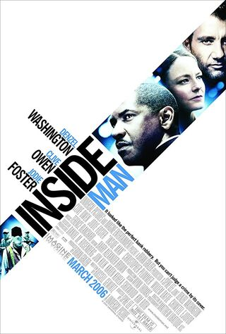 Inside Man (2006) Main Poster