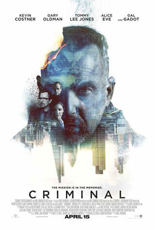Criminal (2016) Main Poster