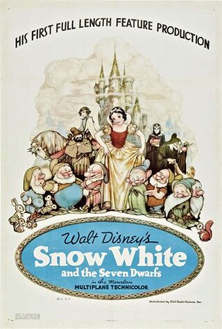 Snow White And The Seven Dwarfs (1938) Main Poster