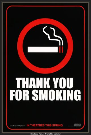 Thank You For Smoking (2006) Main Poster