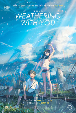 Weathering With You (2019) Main Poster