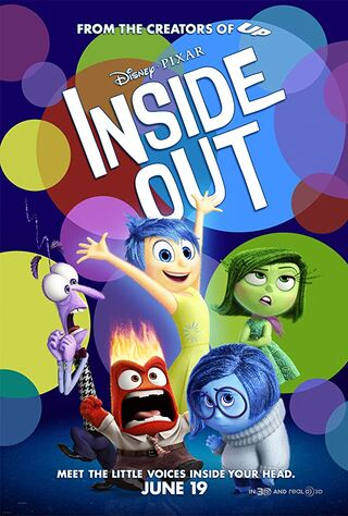 Inside Out (2015) Main Poster