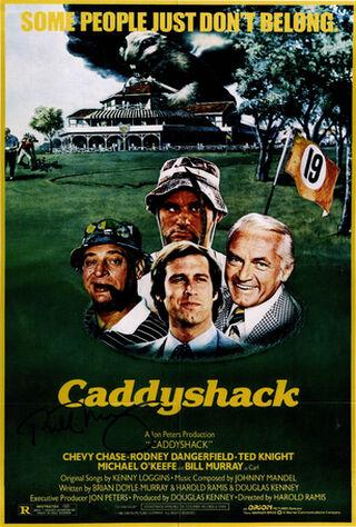 Caddyshack (1980) Main Poster