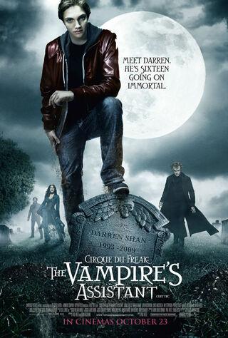 Cirque Du Freak: The Vampire's Assistant (2009) Main Poster