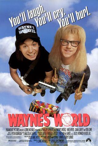 Wayne's World (1992) Main Poster