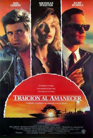 Tequila Sunrise (1988) Main Poster
