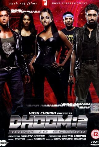 Dhoom 2 (2006) Main Poster