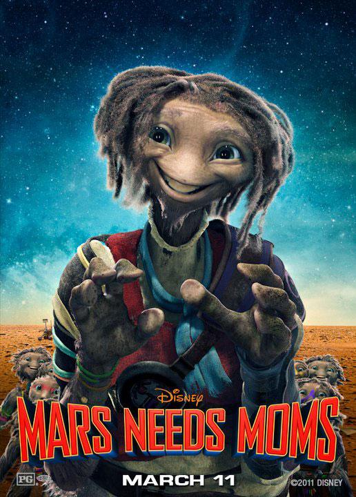 Mars Needs Moms (2011) Poster #1