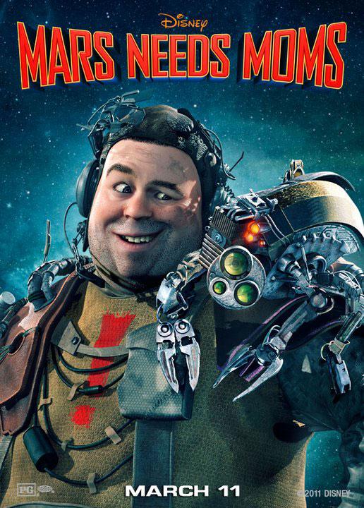Mars Needs Moms (2011) Poster #2
