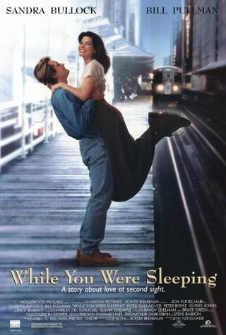 While You Were Sleeping (1995) Main Poster
