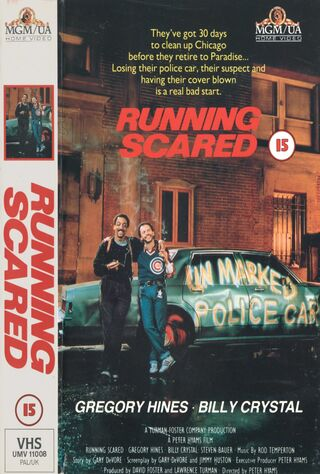 Running Scared (1986) Main Poster