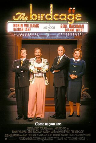 The Birdcage (1996) Main Poster