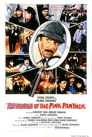 Revenge Of The Pink Panther (1978) Main Poster