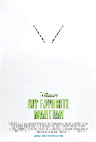 My Favorite Martian (1999) Main Poster