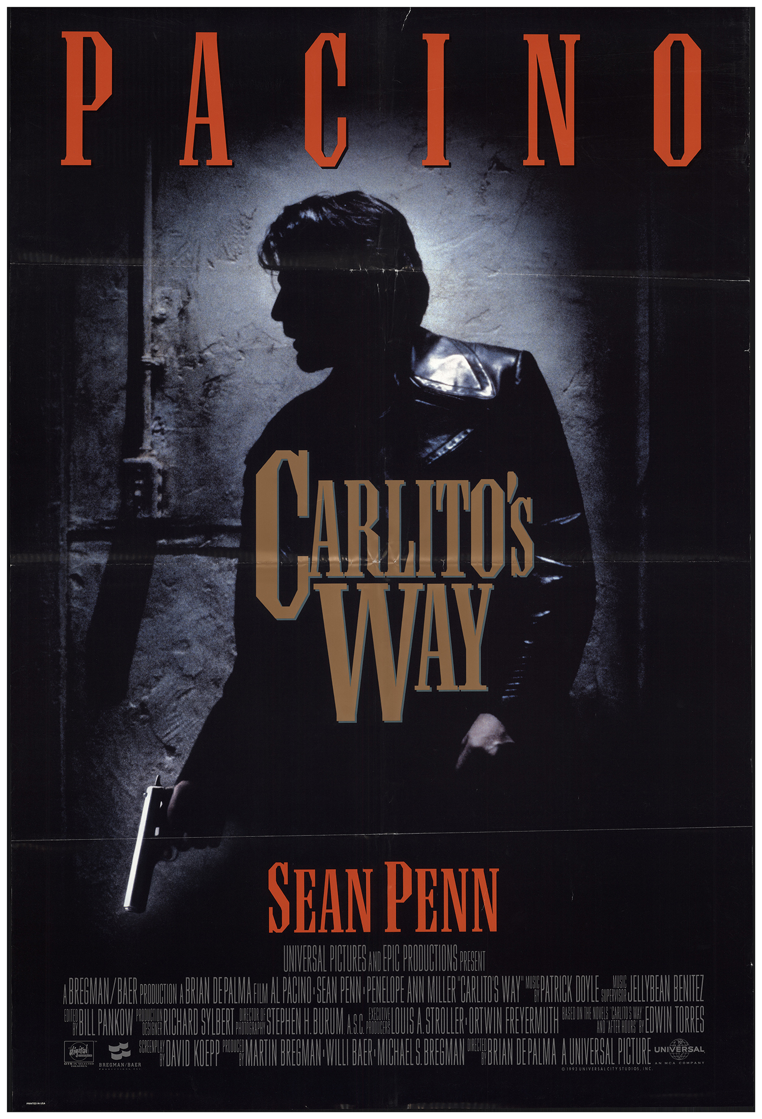 Carlito's Way Main Poster