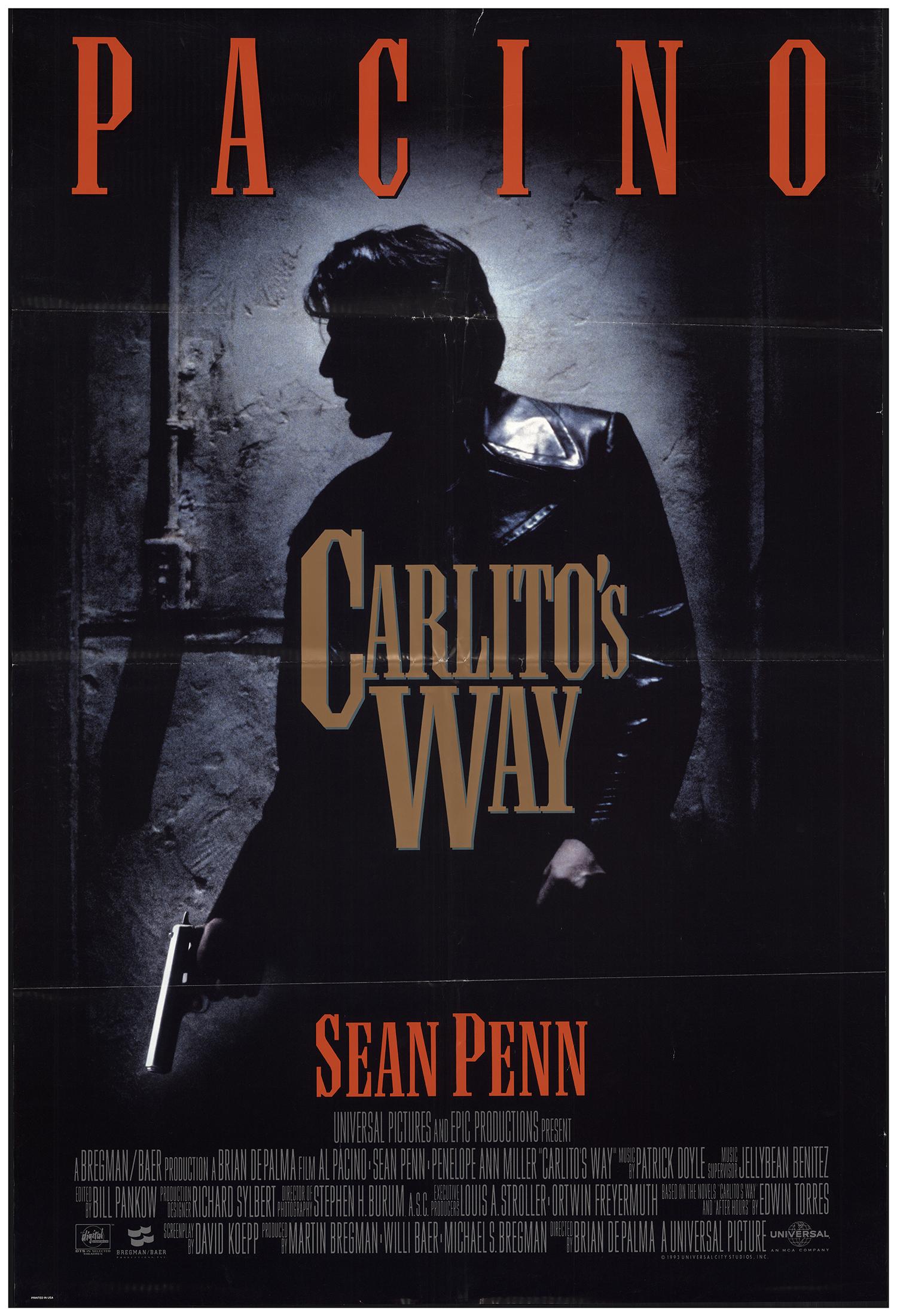Carlito's Way (1993) Main Poster