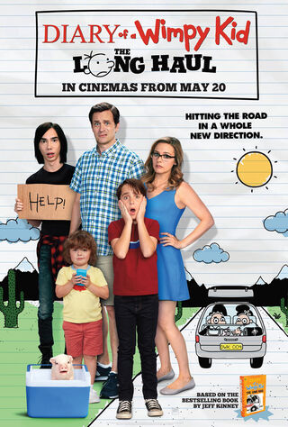Diary Of A Wimpy Kid: The Long Haul (2017) Main Poster