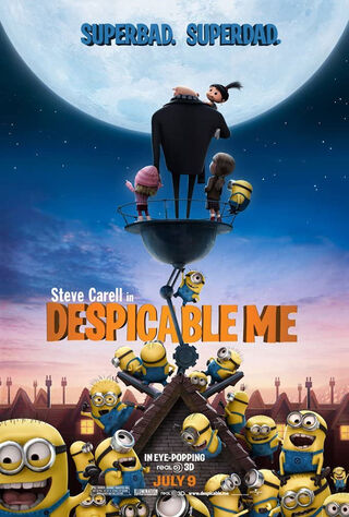 Despicable Me (2010) Main Poster