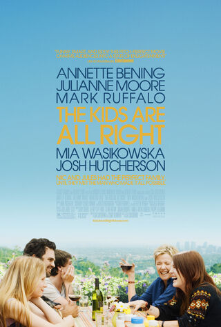 The Kids Are All Right (2010) Main Poster