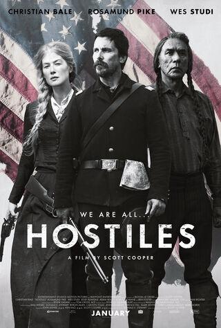 Hostiles (2018) Main Poster
