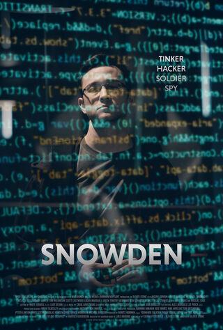 Snowden (2016) Main Poster