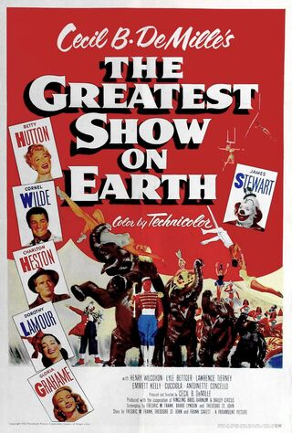 The Greatest Show On Earth (1952) Main Poster