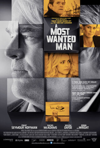 A Most Wanted Man (2014) Main Poster