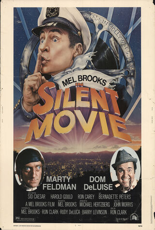 Silent Movie (1976) Main Poster